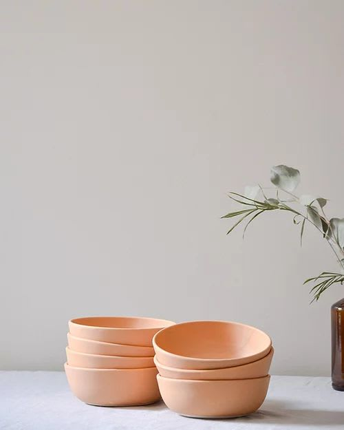 Tableware by Stone + Sparrow seen at Creator's Studio, Pittsburgh - Free-Range Egg Bowls