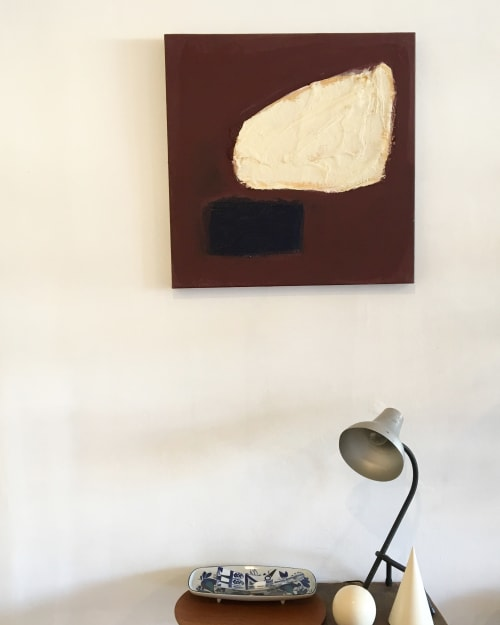 Paintings by Sara Marlowe Hall at Private Residence, Los Angeles - Homage To A Fragment