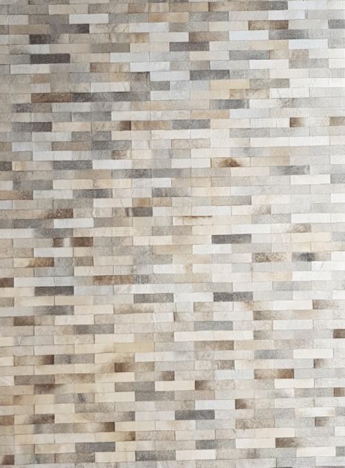 Rugs by KAYMANTA - Handmade Area Rug, Brickell design [ gray ]