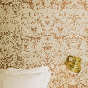 Wall Treatments by Roos Soetekouw seen at Hotel The Exchange, Amsterdam - Mattress Deluxe