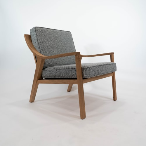 Chairs by Crow Works seen at Columbus, Columbus - Beacon Lounge Chair