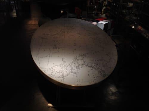 Tables by Roberto Giacomucci seen at Rossana Orlandi, Milano - Globe
