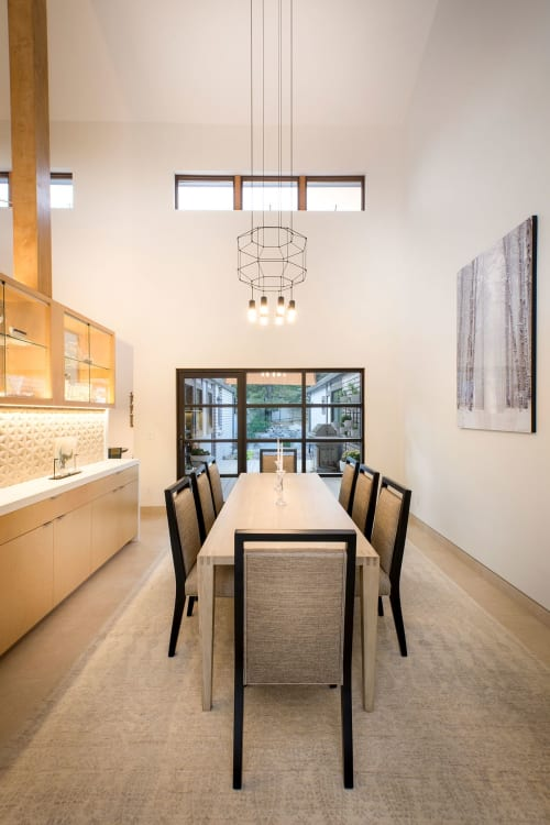 Pendants by Vibia seen at Private Residence, Carson City, Carson City - Pendants