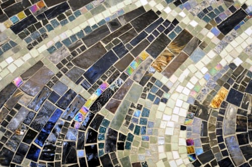 Public Mosaics by Barbara Cooper seen at Paulina Station of the Brown Line, Chicago, IL, Chicago - Transitions
