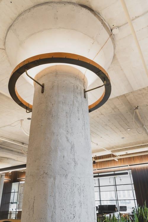 Interior Design by Birdstudio Inc. seen at Aramark HQ, Philadelphia - Lubert-Adler Offices