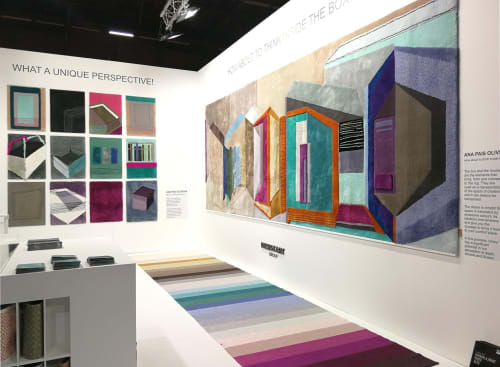 Art & Wall Decor by Ana Pais Oliveira seen at Private Residence, Espinho - Perspectives luxury rugs collection