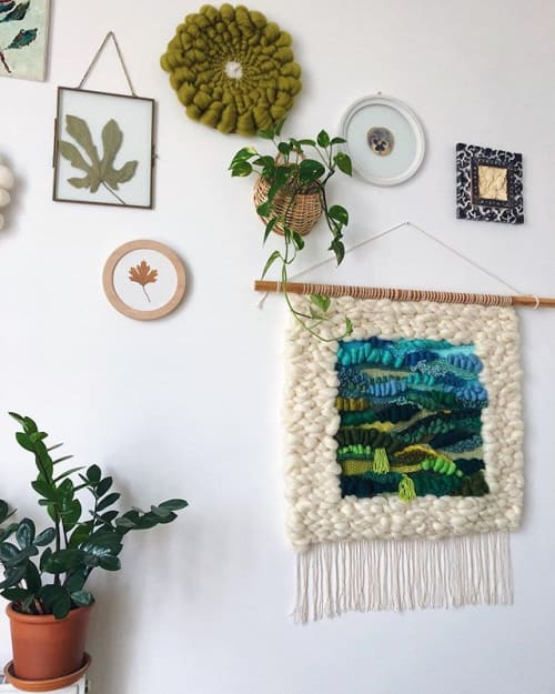 Wall Hangings by Awesome Knots seen at Private Residence, Kyiv - Анна Шепелева