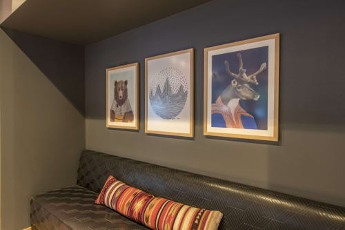 Art & Wall Decor by Jamie L. Luoto at Moxy Seattle Downtown, Seattle - Moxy Seattle Downtown