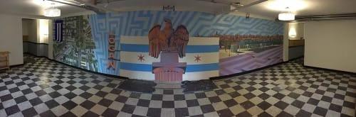 Mitchell Egly - Murals and Street Murals
