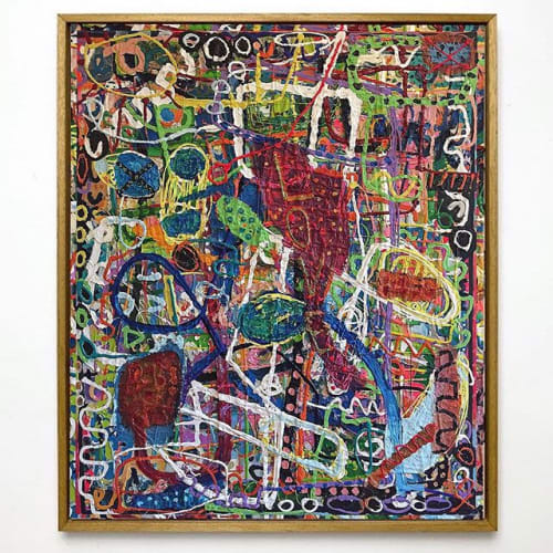 Paintings by Boris Fauser seen at Private Residence, Berlin - Untitled