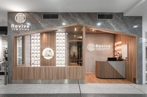Interior Design by Studio Hiyaku seen at MarketPlace Leichhardt, Leichhardt - TCM Revive Clinic