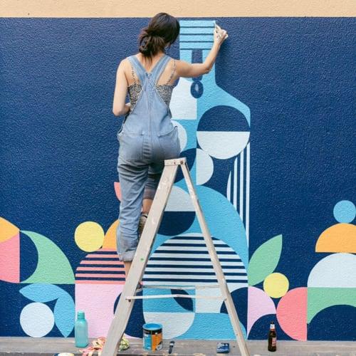 Alexandra Bellas - Street Murals and Public Art