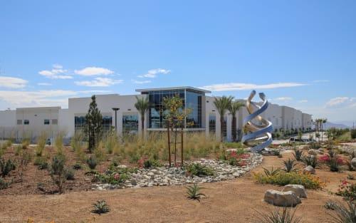 Public Sculptures by Gerard Basil Studio seen at Fontana, Fontana - pivot