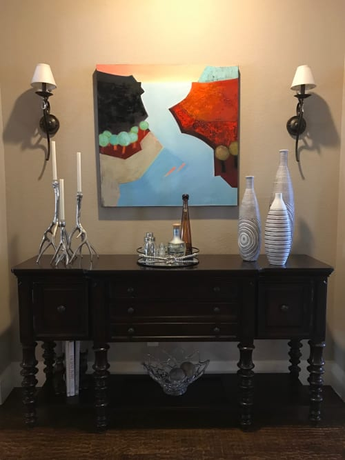 Paintings by Ellen Dieter seen at Private Residence - Up and Down the River Bend