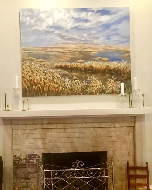 Paintings by Becky O'Neal seen at Private Residence, Ball - Marsh