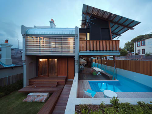 Architecture by CplusC Architectural Workshop seen at Private Residence, Waverly - House of Parts