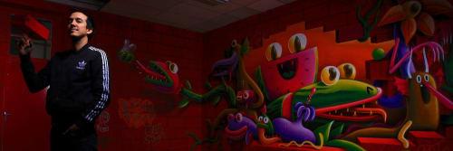 Nicolas Barrome - Street Murals and Murals