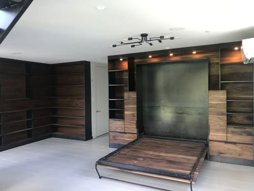 Beds & Accessories by Brian Chilton Design seen at Client Residence - Austin, Texas, Austin - Custom Murphy Bed
