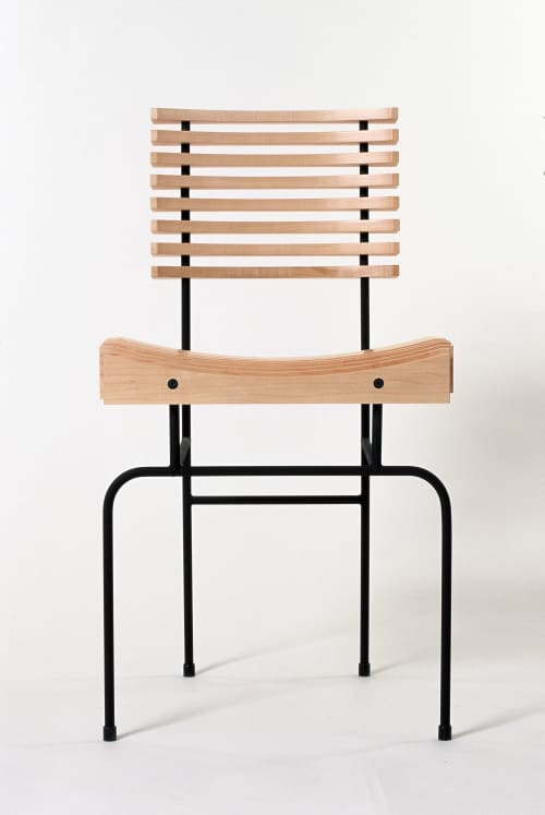 Chairs by Colin Harris seen at Private Residence, Ireland - Slatted chair