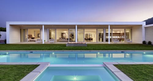 Architecture by Anthony Poon, Poon Design Inc. seen at Private Residence, Palm Springs - Linea Residence G