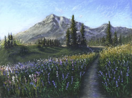 Paintings by Rich Allan Bass seen at Private Residence, Portland - Spring