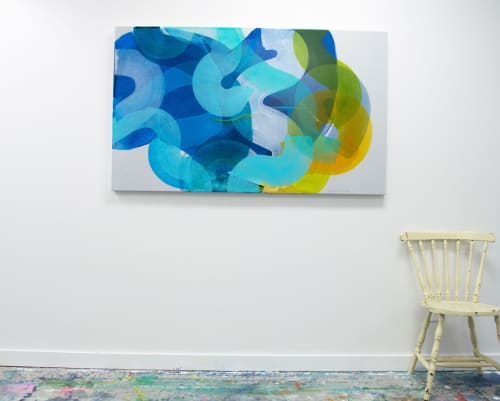 Paintings by Claire Desjardins seen at Creator's Studio, Gore - Don't Overthink