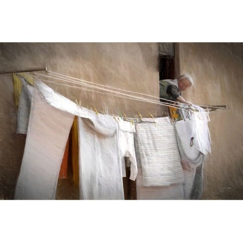 Photography by Suzann Kaltbaum seen at Private Residence, Durham - Laundry Lady Italy