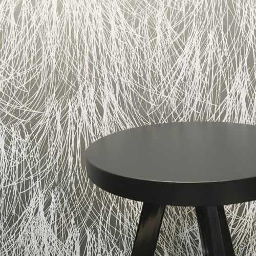 Shag   White Thread   Wallpaper by Jill Malek Wallpaper