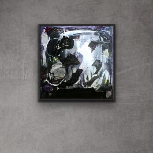 Paintings by Aurelio Costarella seen at Creator's Studio, Perth - Piercing A Dark Heart