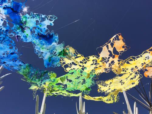 "Murals by Noelle Miller Art seen at Masonville, Masonville - ""Lay Down, Look Up"""