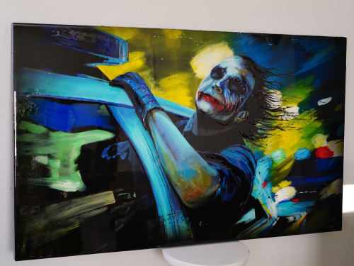 Paintings by Nickhartist seen at Private Residence, Dallas - Joker