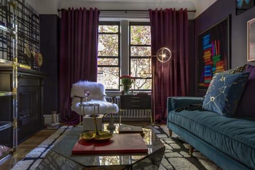Interior Design by OLGA HANONO seen at Times Square, Manhattan, New York, NY, New York - NEW YORK