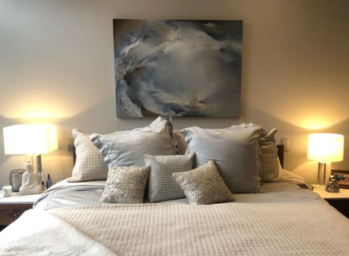 Interior Design by Melanie Warsinske Art seen at Private Residence, Denver - Chasm Oil Painting