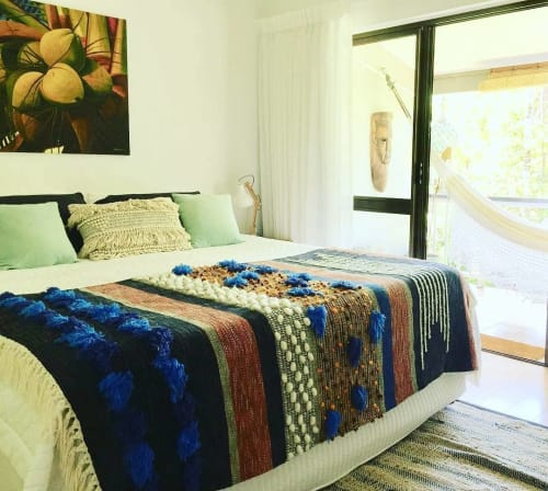 Linens & Bedding by All Roads seen at Wayfarer Port Douglas, Port Douglas - Matija Throw