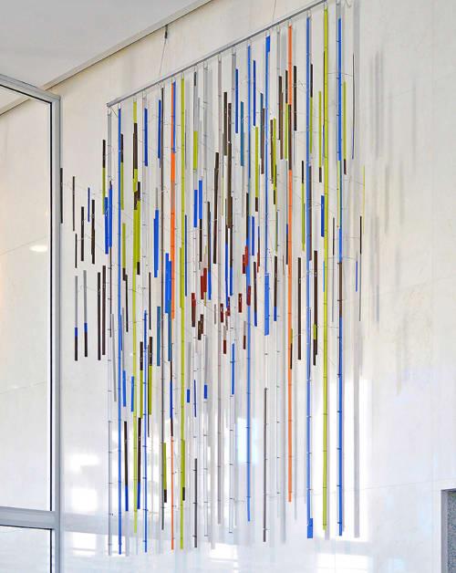 Sculptures by Mel Ristau at U.S. Bank Tower Denver, CO, Denver - Field of Trees