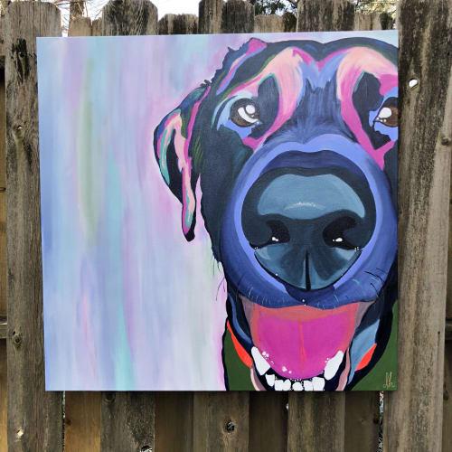Finn | Paintings by Dare Harcourt Art | Walnut Grove Animal Clinic in Memphis