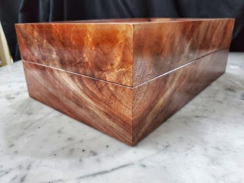 Tableware by Copper Pig Woodworking seen at Creator's Studio, Boston - Stadia Teabox #2 - Sakura