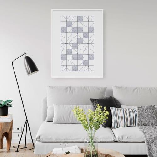 Art & Wall Decor by Michael Grace & Co seen at Seattle, WA, Seattle - Geometric Harvest Art Print