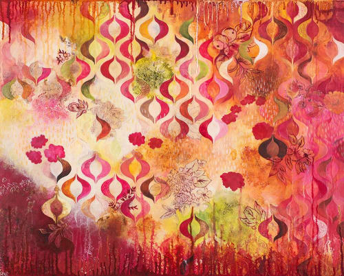 """This Kind of Romance - 24""""x30"""" original painting 
