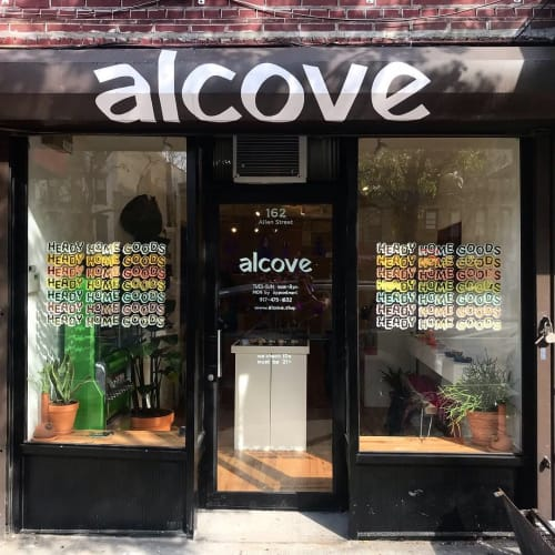 Murals by Very Fine Signs seen at Alcove, New York - Alcove