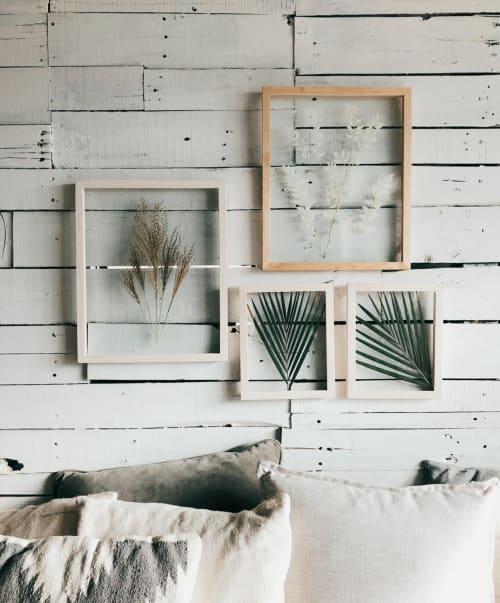 Framed Florals - Art