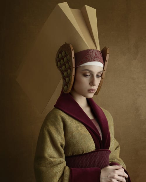 Photography by Christian Tagliavini seen at Private Residence - 1406, La moglie dell'oreficie