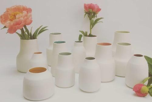 Interior Design by de Hoog - Keramik seen at Private Residence, Berlin - Porvelain vase