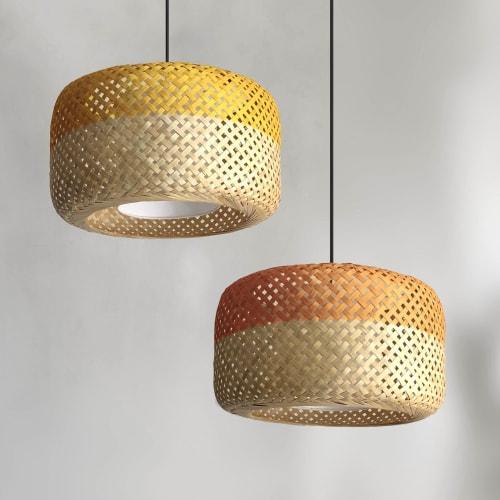 Pendants by Mianzi seen at Private Residence, New Delhi - Opium Pendant Lamp