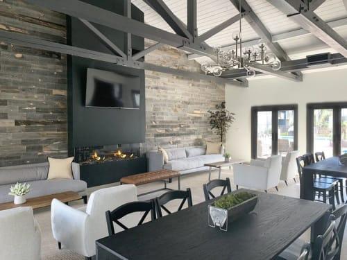 Interior Design by Jordan Shields Design seen at Waterstone Apartment Homes, Los Angeles - Interior Design
