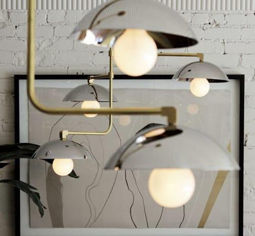 Chandeliers by Deschênes Lighting / Luminaire seen at Villeray—Saint-Michel—Parc-Extension, Montreal - Lighting by Deschênes