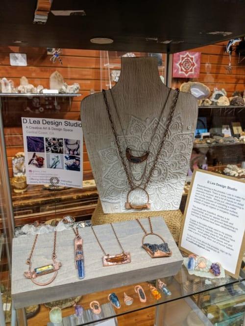 Apparel & Accessories by D.Lea Design   Dara Rosenwasser seen at Private Residence, San Luis Obispo - Wearable Art Science
