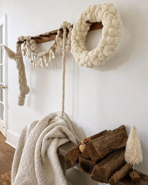Furniture by Dreamy Whites Lifestyle seen at Dani's Home - Randolph Mansion, Washington - Vintage French Coat Rack