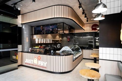 Interior Design by Studio Hiyaku seen at Just Fry Waterloo, Waterloo - Just Fry