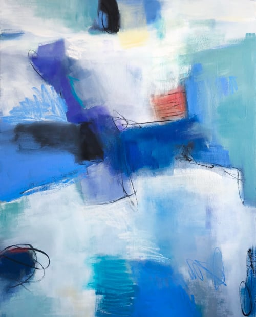 Paintings by Suzie Buchholz seen at Patricia Rovzar Gallery, Seattle, WA, Seattle - Take Me There
